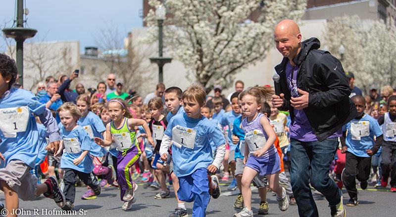 Doug Masiuk at St Lukes Kids Run